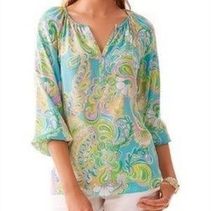 NEW Lilly Pulitzer Size XS Sarabeth Blouse